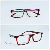 Frame kacamata Minus FLATTOP CASUAL   Lensa Antiradiasi