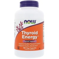 180 Caps Now Foods Thyroid Energy Now Thyroid Now Tiroid ORI USA