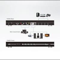 KVM - Aten - 4-Port HDMI Switch with Dual Output VS482