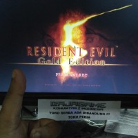 (GAME PC dan LAPTOP) 1kaset RESIDENT EVIL 5 GOLD Full DLC (Terbaru)