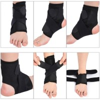 ANKLE Support Band Brace Wrap Guard Pelindung Ankle Pergelangan Kaki