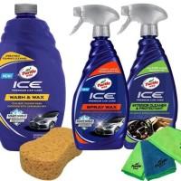 Turtle Wax BUNDLE Ice Premium Car Care - Paket 5 Wash&Wax - Spray Wax