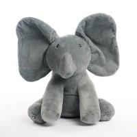 READY Sing & Peek a Boo Elephant Doll Boneka Gajah Cilukba & Nyanyi -