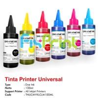 Tinta Canon Tinta Epson Tinta HP Universal Ink (Tinta Dye Based) - Hitam