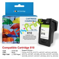 Cartridge Recycle PG-810 Black - Compatible Canon IP2770 MP287 MP237