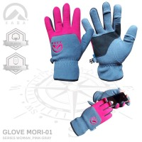 Sarung tangan wanita for outdoor activity, Glove XABA Mori-01 - Fuchsia