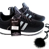 sepatu sneakers olahraga running wanita ando wendy