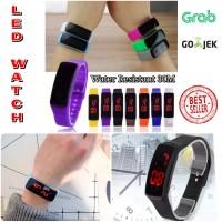 LED Watch Original Waterproof /Anti Air 30M/Gelang Jam tangan UNISEX