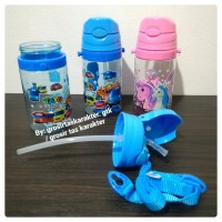 Botol Minum Anak Karakter Mobil Tayo The Little Bus Unicorn 350ml Temp
