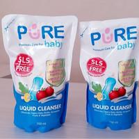 Sabun Cuci Botol Liquid Cleanser Refill 700ml Pure Baby