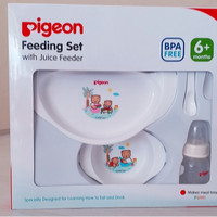 FEEDING SET WITH JUICER FEEDER PIGEON