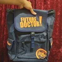 Tas Backpack Ransel Future Doctor - Biru Tua / Navy