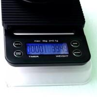 HOT SALE Accurate Coffee Scale, Timbangan Digital dan Timer akurasi
