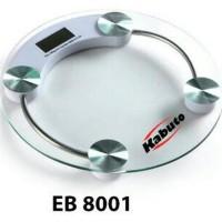 HOT SALE Timbangan Badan Digital merek Kabuto EB8001 Bulat Terjamin