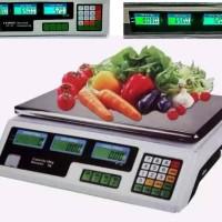 HOT SALE Digital Computing Scale 30 kg Double Display /Timbangan Buah