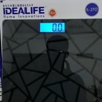 HOT SALE Timbangan badan digital berkualitas IDEALIFE IL270 Terjamin