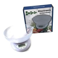 HOT SALE Timbangan dapur digital timbangan kue digital mangkuk putih