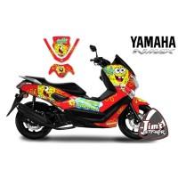 DECAL STICKER MOTOR YAMAHA NMAX SPONGEBOBS EDITIONS