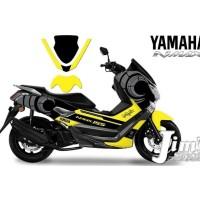 DECAL STICKER MOTOR YAMAHA NMAX YELLOW EDITIONS