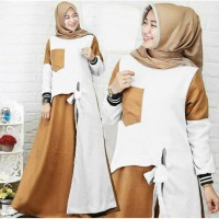 Terlaris Gamis Zelena Jumbo Maxi Dress Syari Muslimah Big Size Terkini