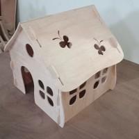 Rumah kandang kucing Cat House