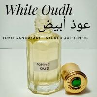 Bibit Parfum WHITE OUDH 12ml oud abyad abyadh putih gaharu non alkohol
