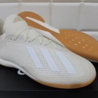 ORIGINAL Sepatu Futsal Adidas X Tango 18.3 IN Owhite / Ftwwht / Goldmt