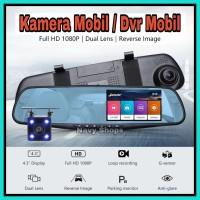 Kamera Mobil Kaca Spion 2 Kamera - Dvr Mobil Kaca Spion KMS02