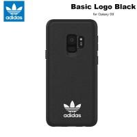 Case Samsung Galaxy S9 Adidas Originals Basic Logo Soft Case - Black