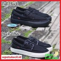 Sepatu Sneaker Vans Zapato Black - Sepatu Pria Vans Zapato Premium