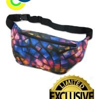 waistbag distro pria motif full print terbaru limited edition