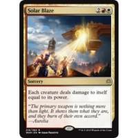 Magic the Gathering   Solar Blaze