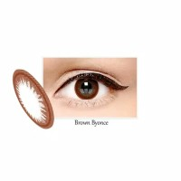 X2 Bio Brown Byonce normal minus s/d -6.00 no ring 14.5 mm - Softlens