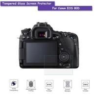 Tempered Glass Kamera Canon Eos 70D 77D 80D 7D Mark II