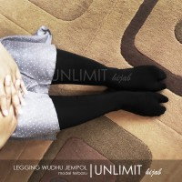 LEGGING WUDHU JEMPOL Original By Unlimit Hijab | Leging Wudhu Jempol - Abu Tua