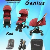 Stroller Baby Elle Kereta Dorong Bayi BabyElle 352 Genius BISA GOJEK - RED