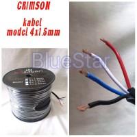 Kabel Speaker CRIMSON 4 X 1.5 MM - 100 Meter