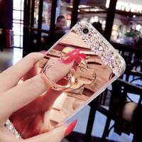 Casing Soft Case Diamond Cermin Samsung S8 S9 Plus A5 A7 A8 Note 3 5 8