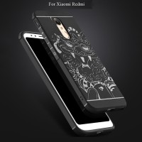 Soft Case Shockproof Motif Naga 3D Xiaomi Redmi 5 Plus Note 5A Prime