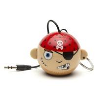 OptimuZ Mini Buddy Portable Speaker Karakter Pirate / Bajak Laut