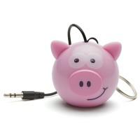 OptimuZ Mini Buddy Portable Speaker Karakter Pig / Babi