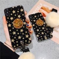 Phone Case Samsung J3 J5 J7 Pro J2 J5 J7 Prime Soft TPU Fur Ball Cover