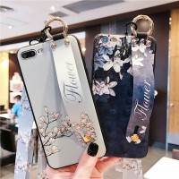 Casing Case Bunga Vintage Tali Lanyard oppo F5 a83 A79 a57 a39 f1s