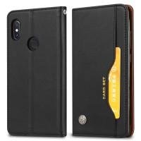 Case Cover Kulit PU Model Dompet untuk Xiaomi Redmi 5 Plus Note 5 Pro