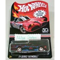 Hotwheels tv series batmobile batman edisi 2018 collector edition 50