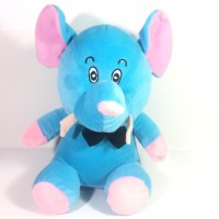 Mainan Anak / Kado Anak Boneka Gajah Biru Ukuran M ( Kecil )