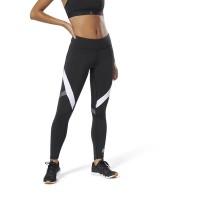Legging Olahraga Senam Yoga Gym Reebok Wor Big Delta Tight- Black
