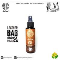 Leather bag polish and cleaner, pembersih tas kulit, semir tas kulit