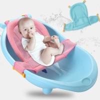Baby bather alas duduk bak mandi bayi kursi jaring mandi bayi