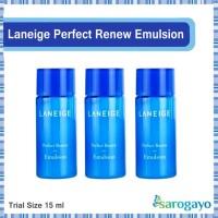 [Sarogayo] READY STOCK Laneige Perfect Renew Emulsion Trial Kit 15 Ml
